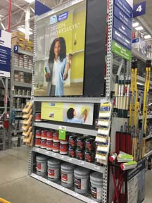 HGTV HOME By Sherwin-Williams Displays INFINITY Paint