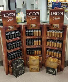 Pepsi Displays Support 1893 Launch