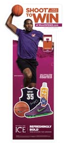Sparkling Ice Debuts Promo. With Kevin Durant