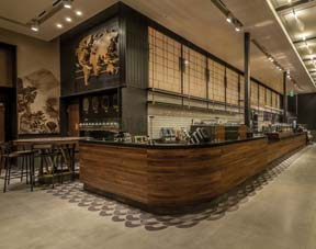 New Starbucks At Universal Studios Inspired By History Of Tinseltown