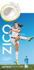 ZICO Signs U.S. Athletes,  For Rio Olympic Promo.