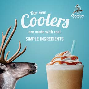 Caribou Coffee Promotes Coffee Coolers This Summer