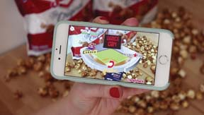 Cracker Jack Popcorn  Introduces New Mobile Experience