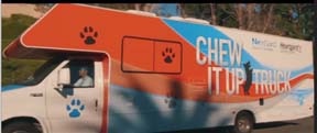 Merial Launches Chew It Up Truck Tour