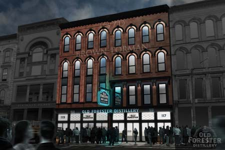 Old Forester To Open Whiskey Row Distillery