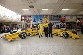 Pennzoil Opens Team Penske Exhibit At Indiana Speedway
