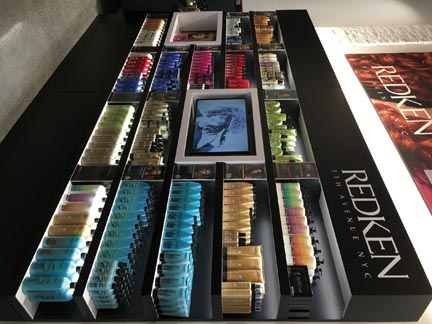 Redken Gallerie Digital Displays