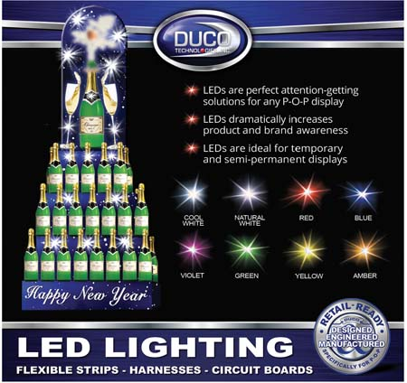 LED Holiday Display Lighting