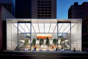 Apple Opens New Store On San Francisco's Union Square