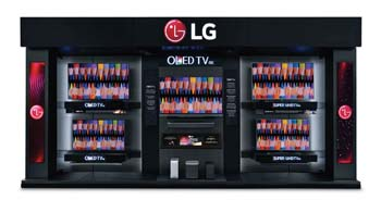LG Debuts Experience Wall In Best Buy Stores