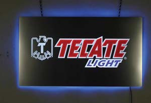 Tecate LED Sign