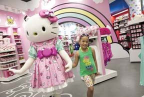 Sanrio And Universal Open New Hello Kitty Retail Store Concept