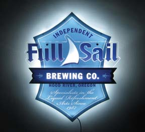 Full Sail Features Multi-Level Glow-Lite LED Sign