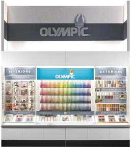 OLYMPIC Paints Unveils New In-Store Color Tools