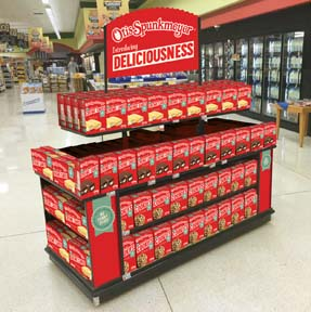 Otis Spunkmeyer Introduces New Snacks To Grocery Chains