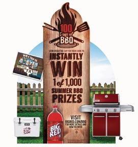 Big Red Kicks Off Summer With 100 Days Of BBQ Promotion