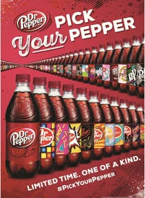 Dr Pepper Launches 'Pick Your Pepper'