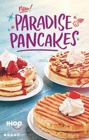 IHOP Restaurants Celebrate Summer With New Paradise Pancakes