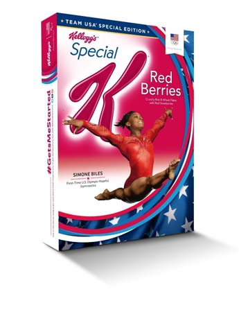Kellogg's Team USA Cereal Boxes Fill Store Aisles
