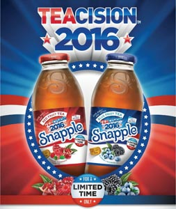 Snapple Launches Patriotic Summer Promo