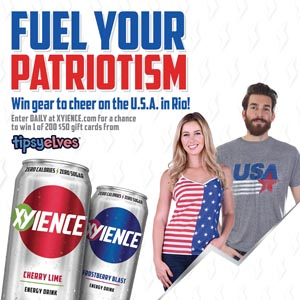 XYIENCE Energy Drink Launches 'Fuel Your Patriotism' Summer Promotion