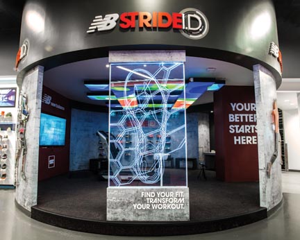 New Balance Canada Introduces Stride I.D. Experience Lab