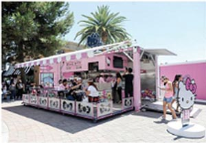 Sanrio Opens First U.S. Hello Kitty Cafe