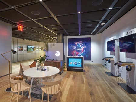 Sony Square Opens In New York City