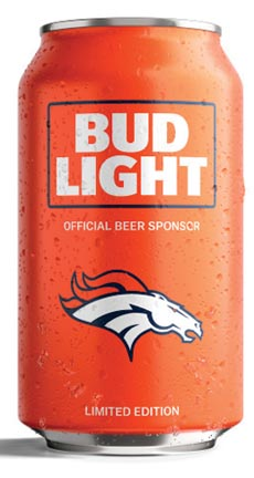 Bud Light Custom Team Cans Return