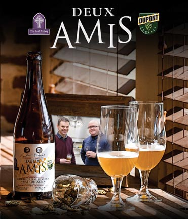 Brasserie Dupont & Lost Abbey Release 'Deux Amis'