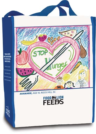 Food Lion Feeds Conducts 'Summers Without Hunger' Reusable Bag Campaign