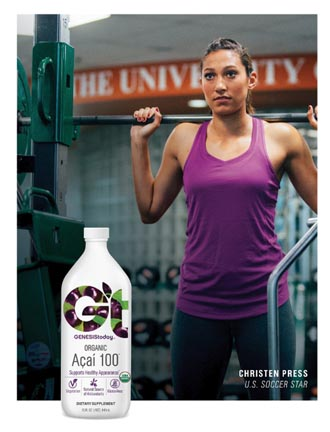 Christen Press Partners With Genesis Today