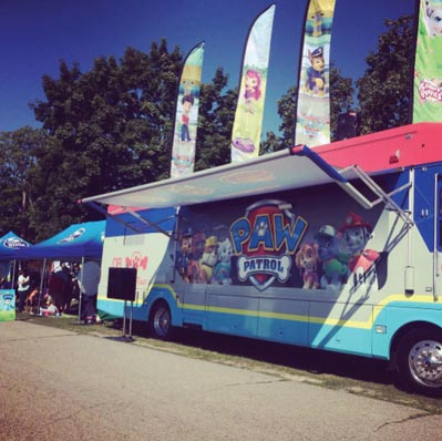 PAW Patrol Roll Patrol Road Tour Launches