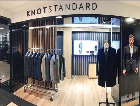 Knot Standard Custom Menswear Opens Store Inside Bloomingdale's Flagship In New York