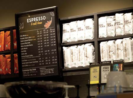 Starbucks Canada Introduces Calories On Menu Boards Nationwide