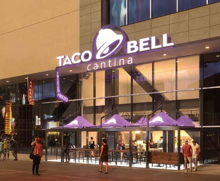 Taco Bell Flagship Restaurant Opens On Las Vegas Strip