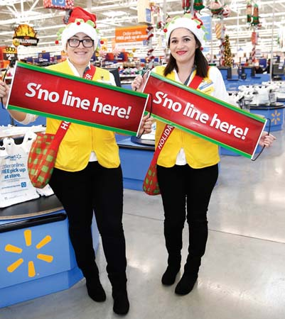 Walmart Introduces Holiday Helpers