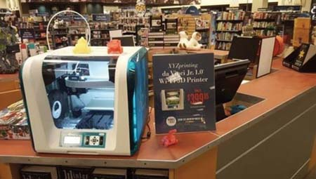 XYZprinting And Barnes & Noble Team Up