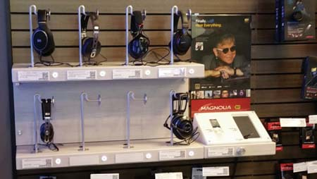 Sony Listening Stations Arrive At Magnolia Locations