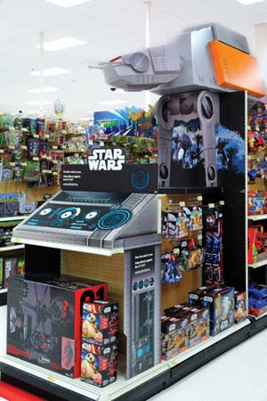 Star Wars Rogue Fun On Display At Target