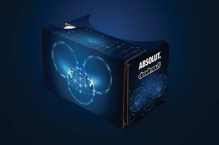 Absolut deadmau5 Interactive VR Nightlife Gaming Experience Launches