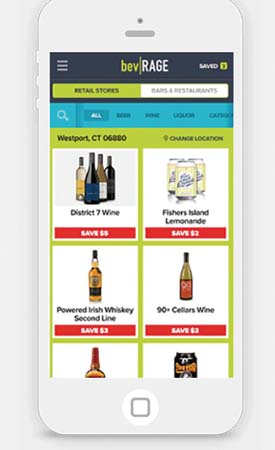 New App bevRAGE Offers Cash Back For Beer, Wine And Liquor