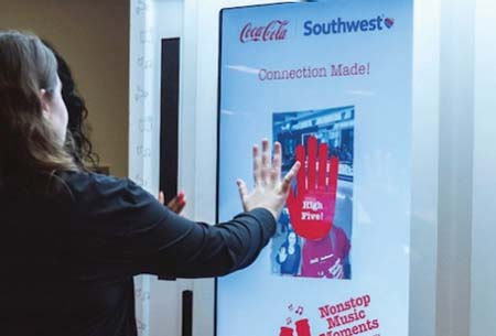 Southwest Airlines And Coca-Cola Connect Airport Travelers