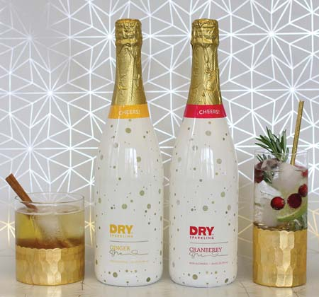 DRY Soda Co. Launches Limited Edition Ginger & Cranberry DRY Sparkling Flavors