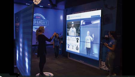 Float & Bud Light Roll Out Virtual Fitting Rooms