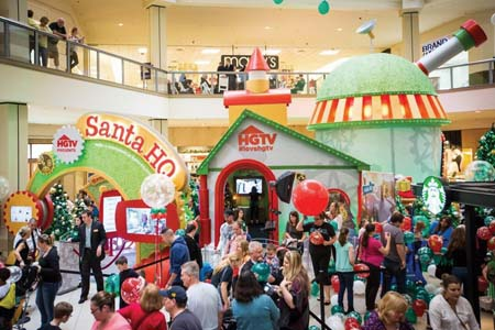 HGTV's 'Santa HQ' Experience Expands To Five New Macerich Mall Locations This Season