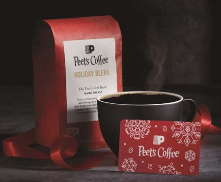 Peet's Coffee Announces 'Coffee First' Holiday Offerings