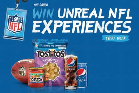 Pepsi And Tostitos Give Fans The Chance To Win  Unreal NFL Experiences