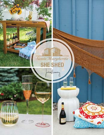 Santa Margherita Runs 'She Shed' Campaign