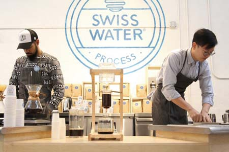 Swiss Water Decaffeinated Coffee Co. Brings Pop-Up Cafe To West Coast